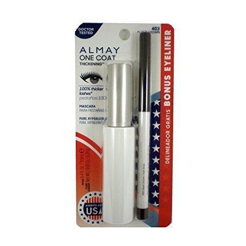 acdf415f317 Almay One Coat Nourishing Thickening Mascara + Eyeliner Twin Pack Black  Brown 403 11.8 ml by Almay on OnBuy