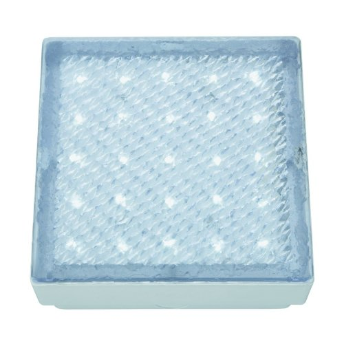 Led Recessed Clear 15cm Square Walkover White Led IP68