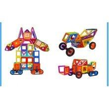 3D Magnetic Toy Building Block Set Kids Creative Construction kit
