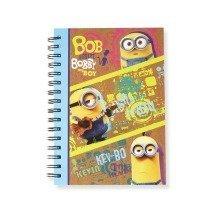 Minions Spiral A5 Notebook