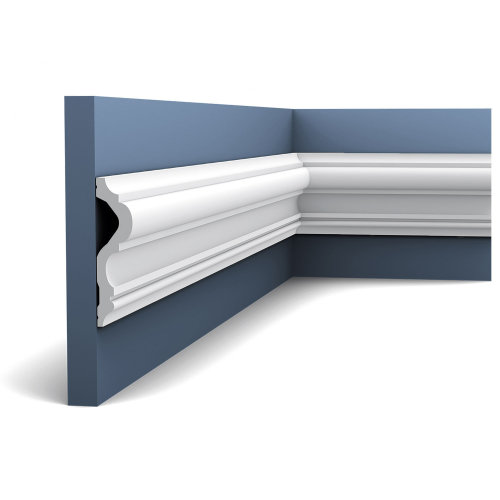 Orac Decor P8050F LUXXUS Flexible Panel Moulding Cornice Stucco | 2 m