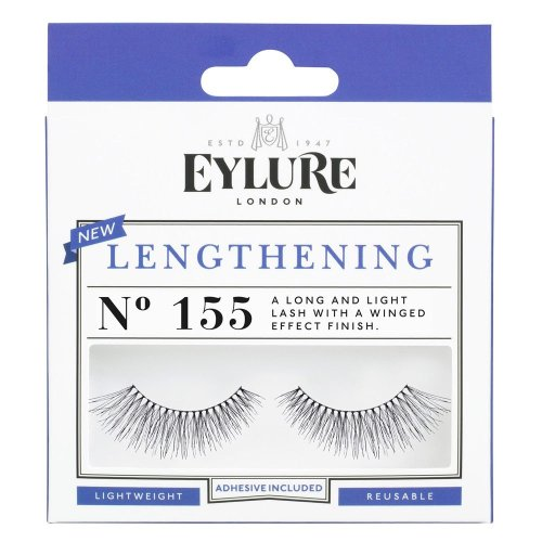 Eylure Lengthening No. 155 False Lashes | Long False Eyelashes