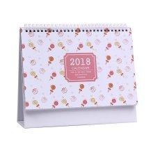 Desk Calendar Candy Pattern - October 2017 through December 2018