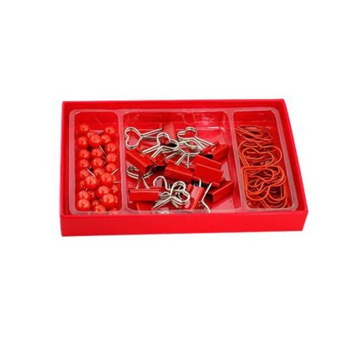 Practical Pushpins/Long Tail Clip Pin For Home Or Office Organization-Red