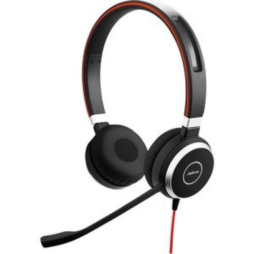 Jabra Evolve 40 Ms Wired Stereo Headset Over-The-Head Supra-Aural 32 Ohm 15 6399-823-189