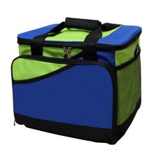 Outdoor Picnic Bag  Large Soft Cooler Insulated Picnic Lunch  Bag for Grocery, Camping, Car, #I