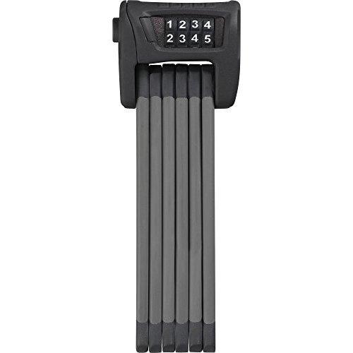 Abus Bordo Combo 6100 75 Folding Lock Black 75cm 5mm