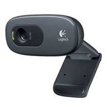 Logitech C270 HD Webcam With Buit In Microphone - Black - HD 720p