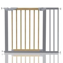 Safetots Beechwood and Metal Pressure Fit Gate