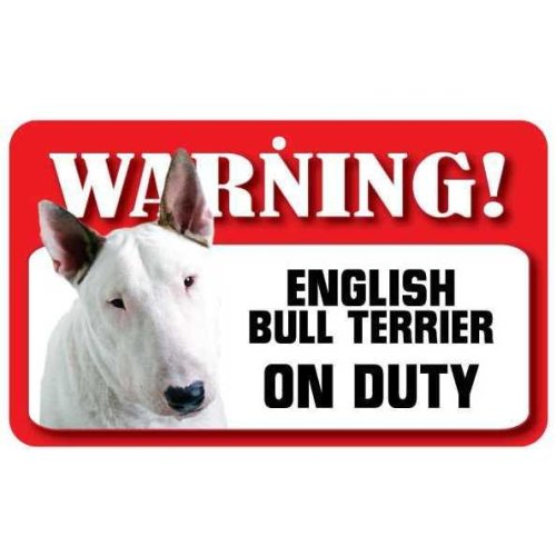 English Bull Terrier Pet Sign