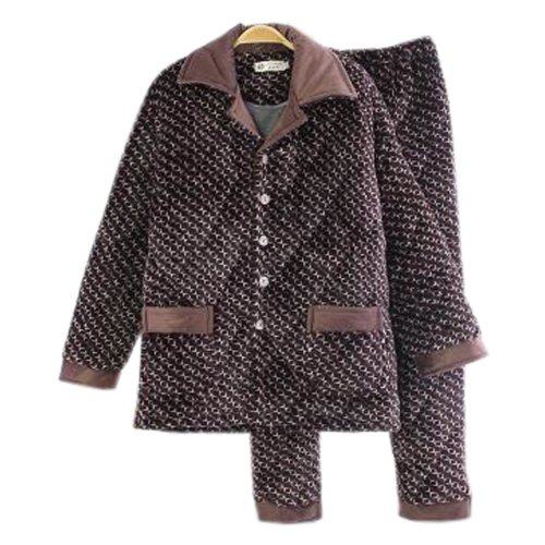 Men Pajamas Warm Thick Cotton Modern Set Sleepwear/Nightwear Clothes for Home, #No.6