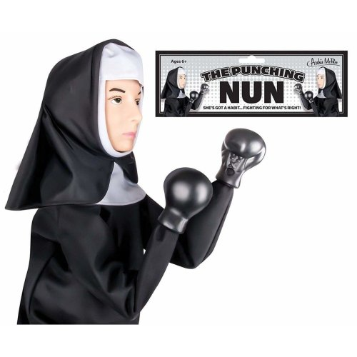 Hand Puppet - Archie McPhee - Nun Punching New 12720