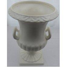 Shorter and Son porcelain white urn shaped vase