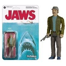 Funko Reaction Jaws Quint Action Figure Size 3.75""