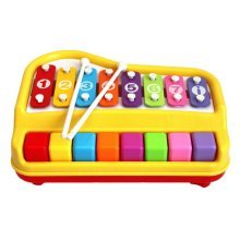 Hammer Percussion Hand Knock Children Music Toy Piano--Eight keyboard