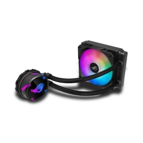 Asus Rog Strix Lc120 Rgb 120Mm Liquid Cpu Cooler Addressable Rgb Pwm Fan 90RC0051-M0UAY0