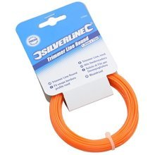 Silverline Trimmer Line Round 1.3mm x 15m - 13mm 633880 S -  line trimmer 15m x silverline round 13mm 633880 strimmer