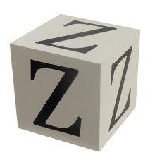 Wooden Block - Letter Z