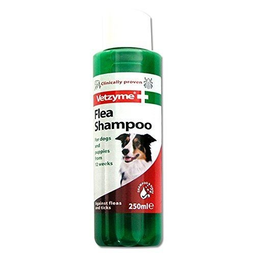 Vetzyme Flea Shampoo for Dogs and Puppies 250 ml