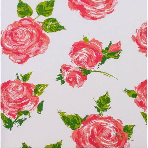 Cottage Rose flowers floral suttons Printed Patterned Tissue Wrapping Paper luxury 5 sheets