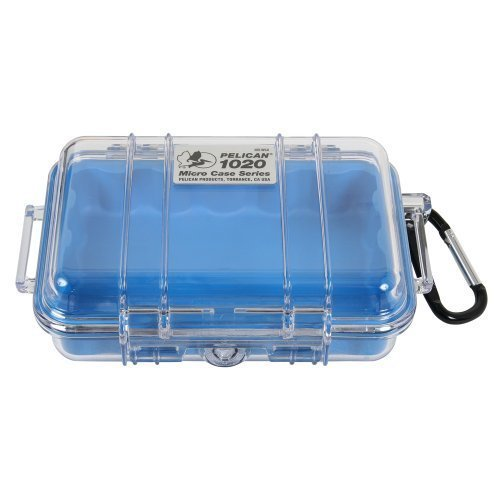 Pelican 1050 Watertight Hard Micro Case with Rubber Liner Yellow