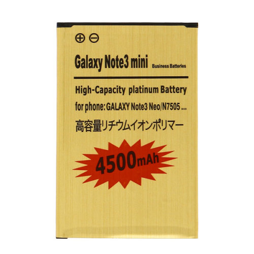 Battery for Samsung Galaxy Note 3 Lite 4500 mAh Replacement Battery