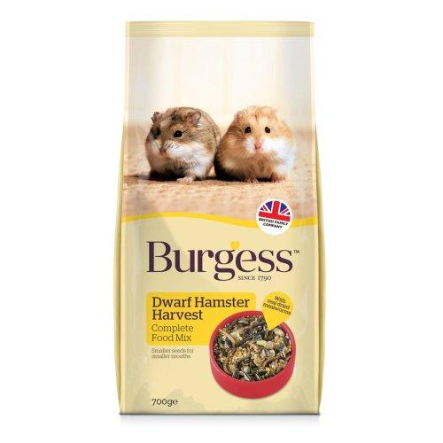 Burgess Dwarf Hamster Complete Food 700g (Pack of 6)