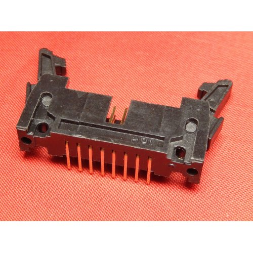 Latch Header 16 WAY Right Angle PCB Mounting TI16LHR PACK of 2