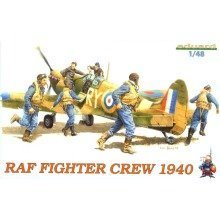 Edk8507 - Eduard Kits 1:48 - Raf Fighter Crew 1940
