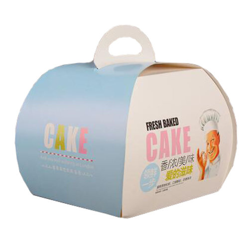 100PCS Cute Boxes With Handle For Pack Candies,Cake,Other Gift,in Party,Birthdays,and other Events,R