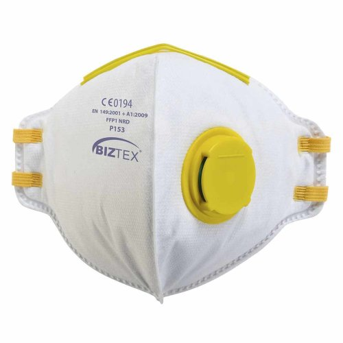sUw - Pack of 20 FFP1 Fold Flat Dolomite Respirators With Exhalation Valves