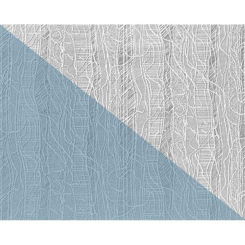EDEM 341-60 paintable creative decor textured non-woven wallpaper white 26.50 m2