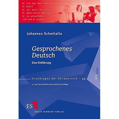 Gesprochenes Deutsch: Eine Einführung