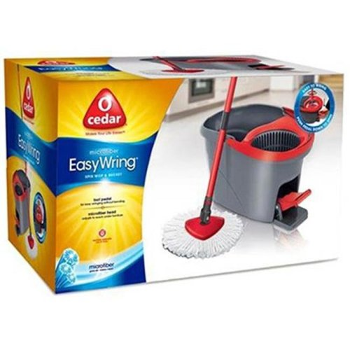 148473 Easy Wring Spin Mop & Bucket System