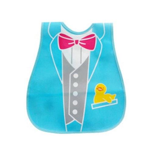Baby Bib Best Home/Travel Bib Lovely Cartoon Design Soft,Waterproof  Bow-tie
