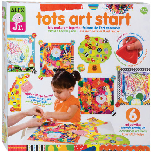 Alex Toys Tots Art Start Kit | Toddler Art Kit