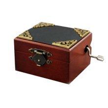 Mini Music Box Retro Style Music Box Height Approx 1.6 Inch