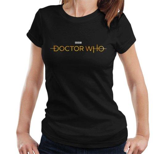 Doctor Who Hero White Logo Women's T-Shirt