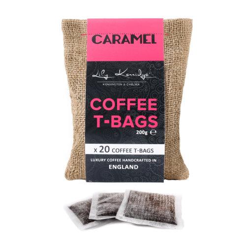 20pc Lily Kerridge Coffee Caramel Coffee T-Bags | Caramel-Flavoured Coffee