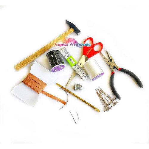 New Wig Makers tool kit for use with wooden Head.
