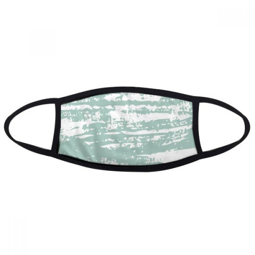 Green Ink Abstract Plants Art Mouth Face Anti-dust Mask Anti Cold Warm Washable Cotton Gift