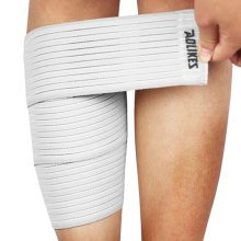Set of 2 Leg Guard Outdoors Safety Protector Calf Leg Support Band Twine White