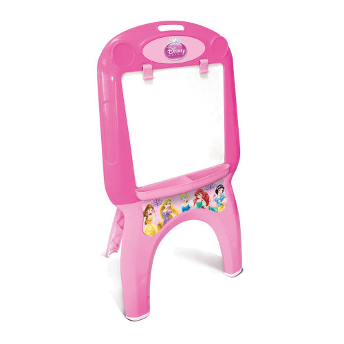 DISNEY Princess My First Foldable Easel with 30pcs Creative Colouring Set, Pink