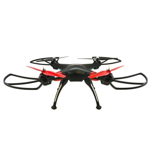TechComm RQ77-11BLK Raven RC Quadcopter Drone with 6-Axis Gyro & Anti-Interference, Black