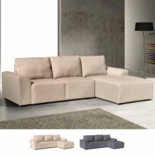 Corner Sofa 3 Seats with Armrests DIAMANTE