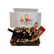 The Little Sweet Shop Happy Birthday Liquorice Sweets Gift Hamper Great for Parties & Weddings and Birthdays