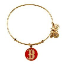 Alex and Ani Red Boston Red Sox Cap Logo Charm Bangle Bracelet - AS12BRS03RG