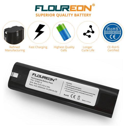 9.6V 2Ah Ni-CD Battery for MAKITA 4190D 8400D 9000 9033 6012HDW 6092D
