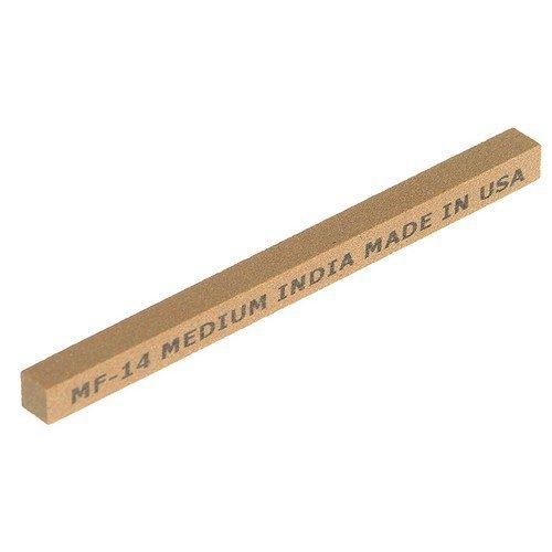 India 61463686085 MF34 Square File 100mm x 10mm - Medium