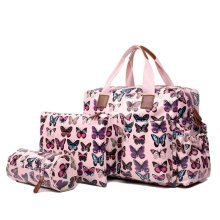Miss Lulu Butterfly Baby Nappy Diaper Changing Bag
